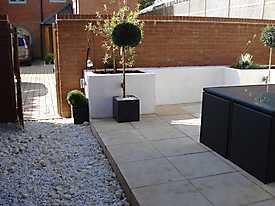 Decking Walls Garden Slabs Wicker_11