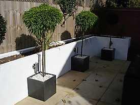 Decking Walls Garden Slabs Wicker_12