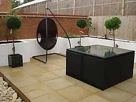 Decking Walls Garden Slabs Wicker_1