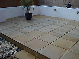 Decking Walls Garden Slabs Wicker_5