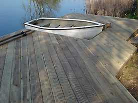 River Boat Pontoon Decking Lake Water_10