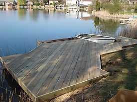 River Boat Pontoon Decking Lake Water_1