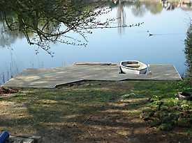 River Boat Pontoon Decking Lake Water_3