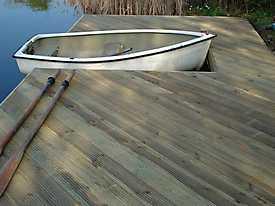 River Boat Pontoon Decking Lake Water_4