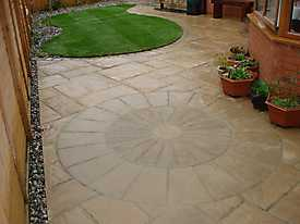 Garden Stone Pathways Paving_1