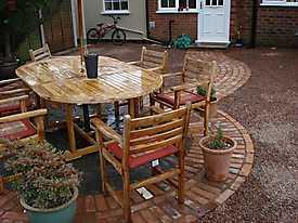 Garden Lawn gravel stone paving_5