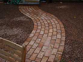 Garden Lawn gravel stone paving_6