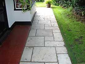 Stone Path and Driveways_2