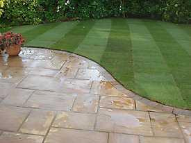 Stone Patio Lawn garden_1