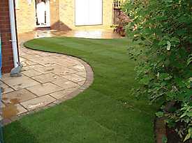 Stone Patio Lawn garden_3