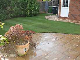 Stone Patio Lawn garden_4