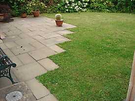 Stone Patio Lawn garden_6
