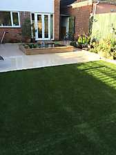 Artificial Lawn St Marys Road Stratford upon Avon_4