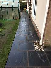 Block Paved Diveway and New Patio in Coventry_7