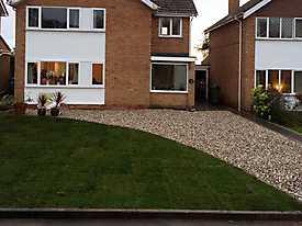 New Garden & Driveway in Kenilworth