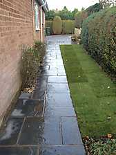 Block Paved Diveway and New Patio in Coventry_12