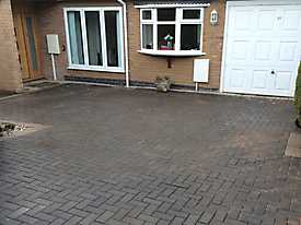 Block Paved Diveway and New Patio in Coventry_1