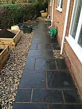 Block Paved Diveway and New Patio in Coventry_8