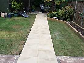 Disabled Garden Ramp Access in Alcester, Stratford upon Avon_1