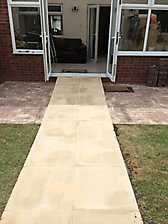 Disabled Garden Ramp Access in Alcester, Stratford upon Avon_4